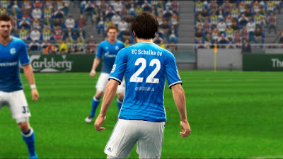 PES 2013 Schalke 04 2016/17 Home Kits by Codiletser