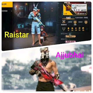 Raistar vs Ajjubhai Sensitiviy Setting