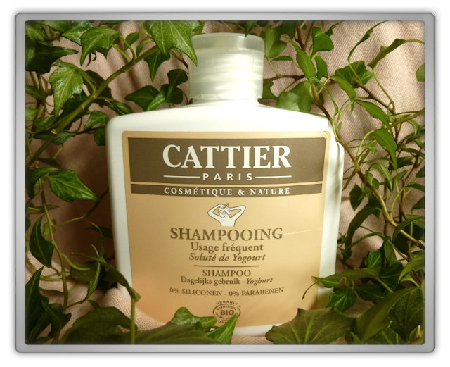 Cattier paris shampoo yoghurt