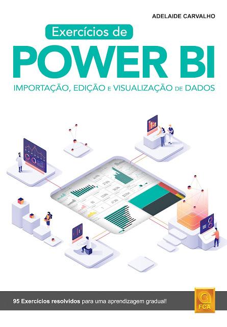"""FCA publica """"Exercícios de Power BI - Importação, edição e visualização de dados"""""""