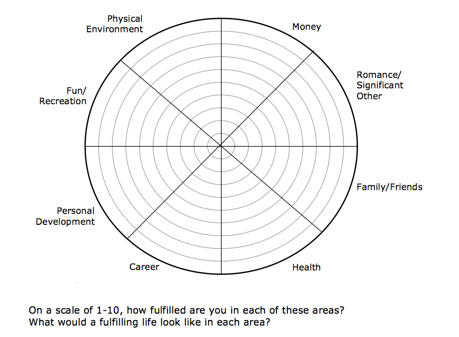 The Patient Patient: Life Impact Wheel