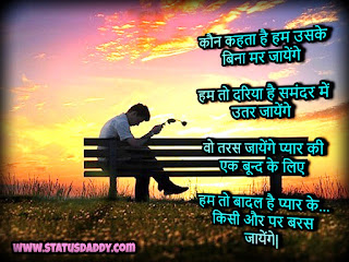 New, Love, Shayari,  Hindi