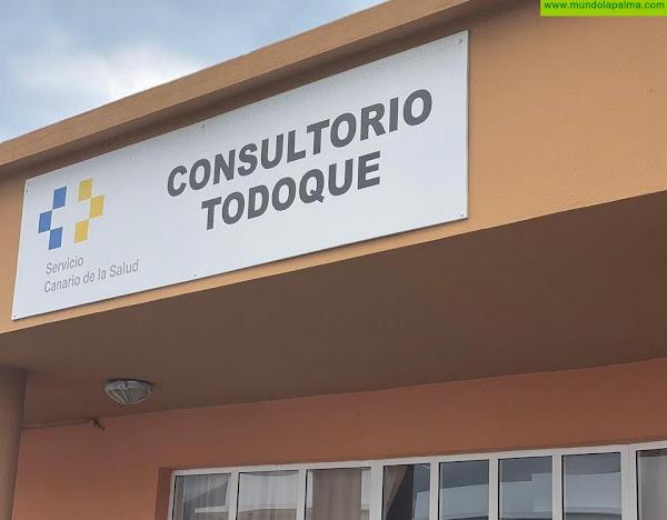 Sanidad informa de que se ha procedido al cierre del Consultorio Periférico de Todoque