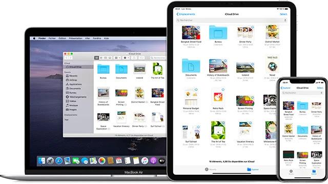 Comment rechercher et gérer des fichiers consommant du stockage iCloud?