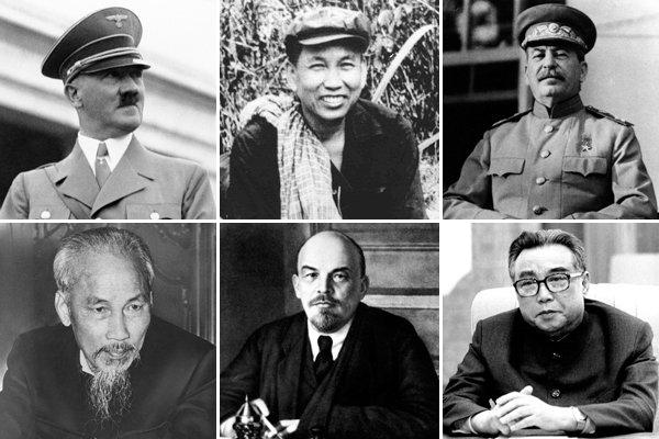 """Hình bên: Hồ Chí Minh là một trong """"13 tên độc tài khát máu """" (13 Deadliest  Dictator) theo tờ The Dailybeast"""