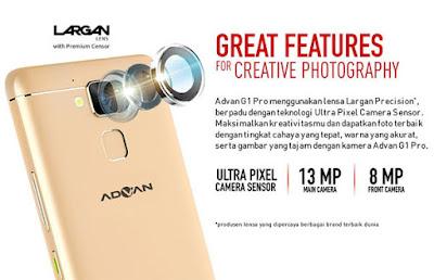 Spesifikasi Advan G1 Pro
