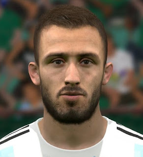 PES 2017 Faces Germán Pezzella by FaceEditor Jefferson_SF