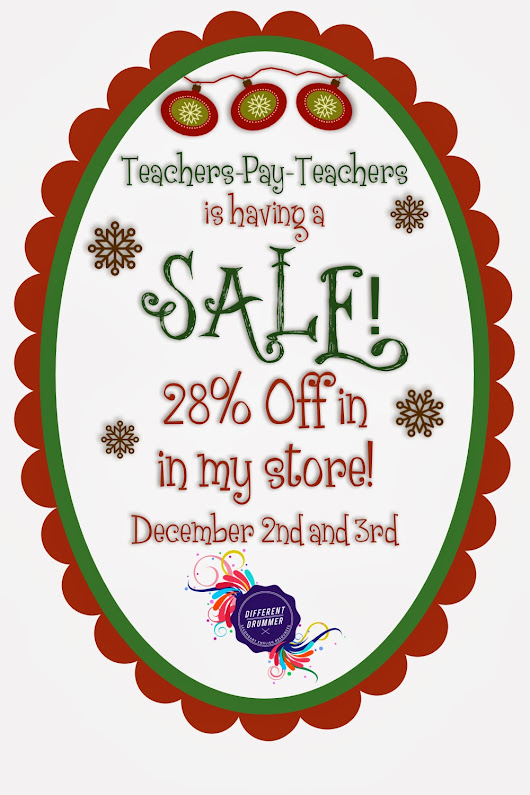 TPT Cyber Monday Sale!! 28% OFF!!