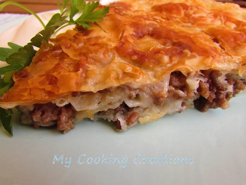 Бюрек с месо по хърватски - бърза рецепта с точени кори * Burek con carne - ricetta da Croatia