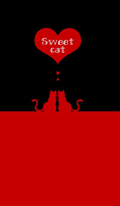 sweet cat [black&red]