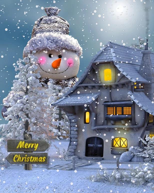Christmas Photo Editing