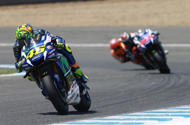 Hasil Kualifikasi MotoGP Motegi, Jepang : Rossi Pole, diikuti Marquez dan Lorenzo