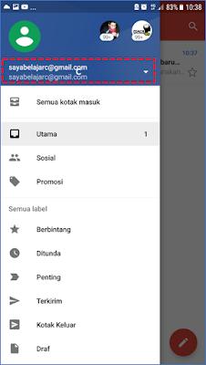Cara 2 : Membuat Akun Gmail Melalui Aplikasi Gmail 13