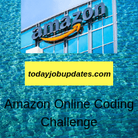 Amazon Online Coding Challenge Fast-track hiring process as Software