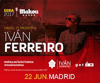 Concierto de Iván Ferreiro en La Riviera