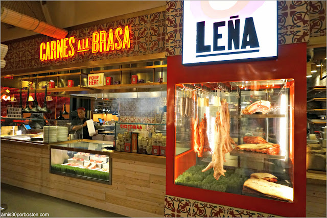 Restaurante Leña del Mercado Little Spain en Nueva York
