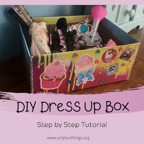 How to Make DIY Dress Up Box - Age Regression / Agere