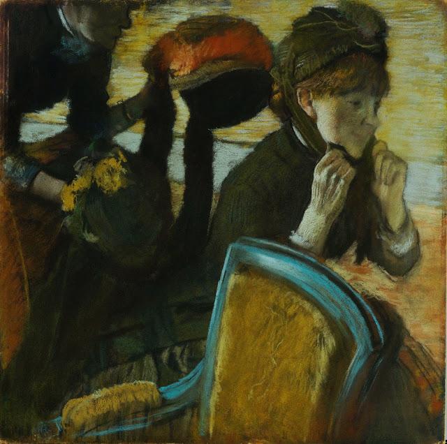 Эдгар Дега - У модистки (ок.1882)