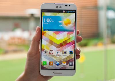 Dấu hiệu kính của LG Optimus G pro cần thay mới