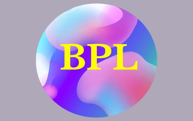 Full form of BPL