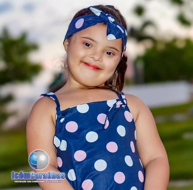 Morre aos 6 anos garotinha caraubense Anny Vitória que lutava há meses contra Leucemia