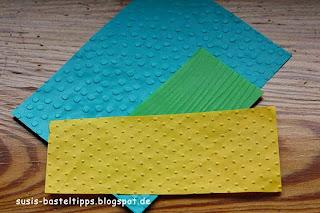 geprägtes Baumwollpapier