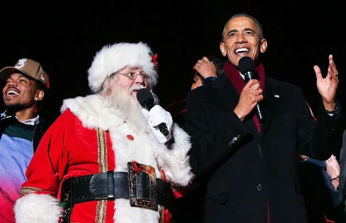President Obama and Chance the Rapper Singing Christmas Carols Together Will Fill You With All the Holiday Cheer