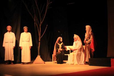 sastra, teater aswad, dramaturgi, mahasiswa semester 6 bsa uinsuka, yerussalem, harut marut, karya sastra timur tengah