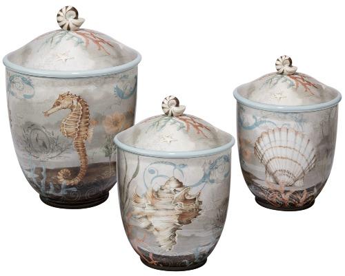 Coastal Canister Jars