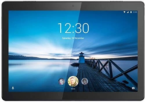 In India Sell On Amazon Lenovo Tab M10 Tablet (10.1 inch, 32GB, Wi-Fi + 4G LTE), Slate Black