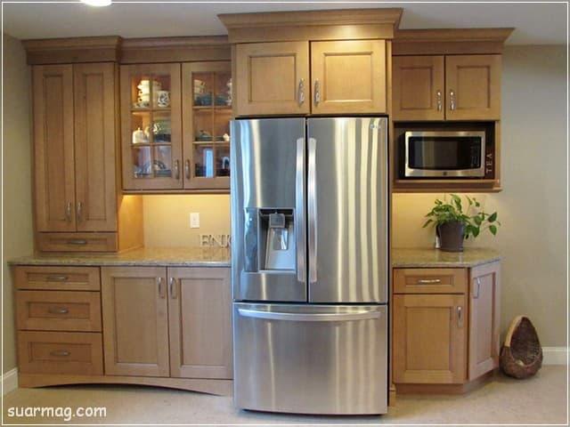 مطابخ مودرن خشب 15   Modern Wood kitchens 15