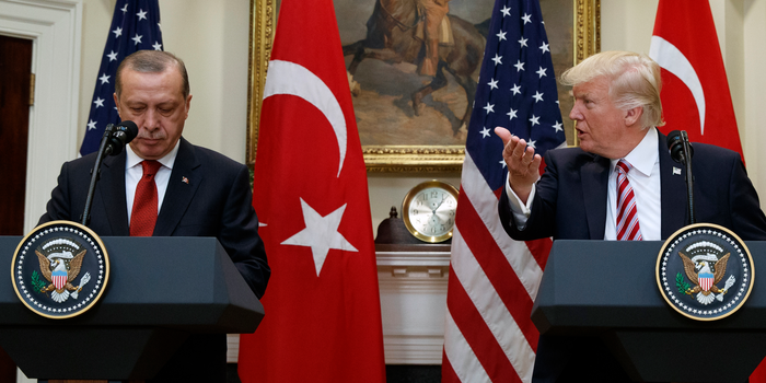 Trump's administration banned his NATO ally Turkey over the purchase of the Russian air defense system