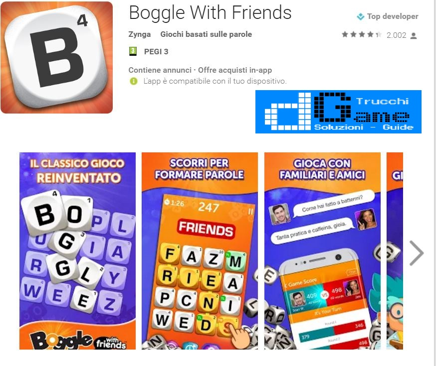 Trucchi Boggle With Friends Mod Apk Android v10.13