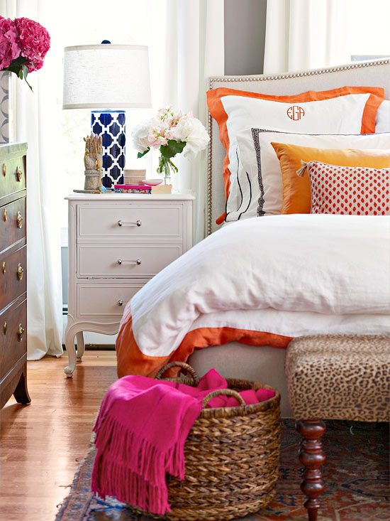 Comfortable bedroom 2013 Ideas from BHG ~ Decorating Idea - Comfortable Bedroom Decorating