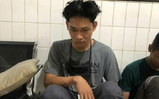 youtuber sampah ferdian paleka ditangkap