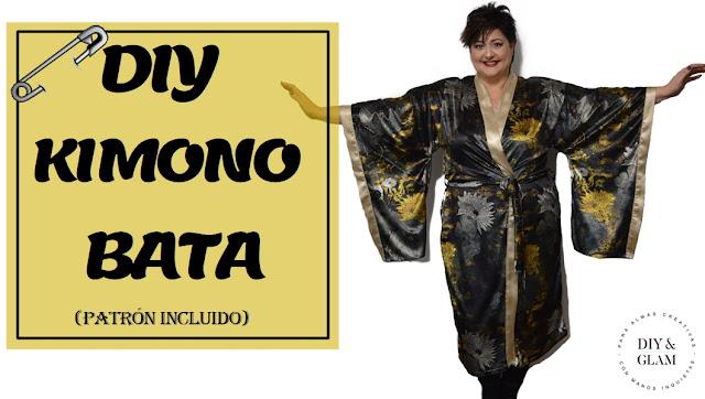 Cómo hacer un kimono bata