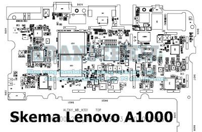 Skema Lenovo A1000