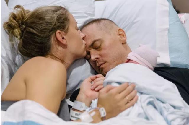 """""""Он так и не проснулся """" мужчина скончался от рака, не увидев рождение своего ребенка"""