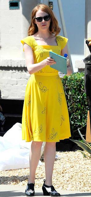 La La Land, vestido amarelo Mia