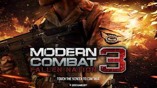 تحميل لعبة MODERN COMBAT 3 مودرن كومبات اخر اصدار مجانا