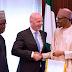 FIFA President Gianni Infantino Pays a Courtesy Visit to Buhari (Photos)