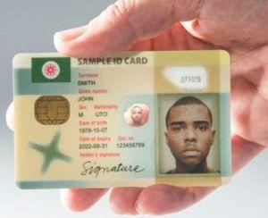 SAMPLE OF NEW DIGITAL ID CARD