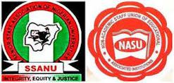 SSANU and NASU strike action