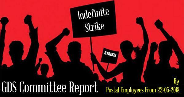 GDS Committee Indefinite Strike By Postal Employees