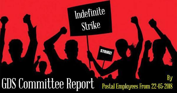 GDS Committee Indefinite Strike By Postal Employees
