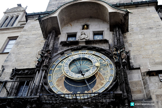 bowdywanders.com Singapore Travel Blog Philippines Photo :: Czech Republic :: Czech Republic Watch: Prague's Astronomical Clock in Old Town is Timeless