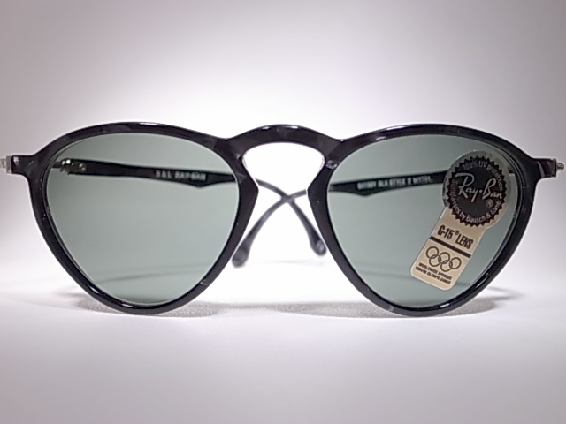M VINTAGE SUNGLASSES COLLECTION: BAUSCH LOMB RAY BAN