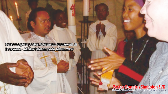 Percikan Pengalaman Pastor Donatus di Pendidikan Seminari Siantar