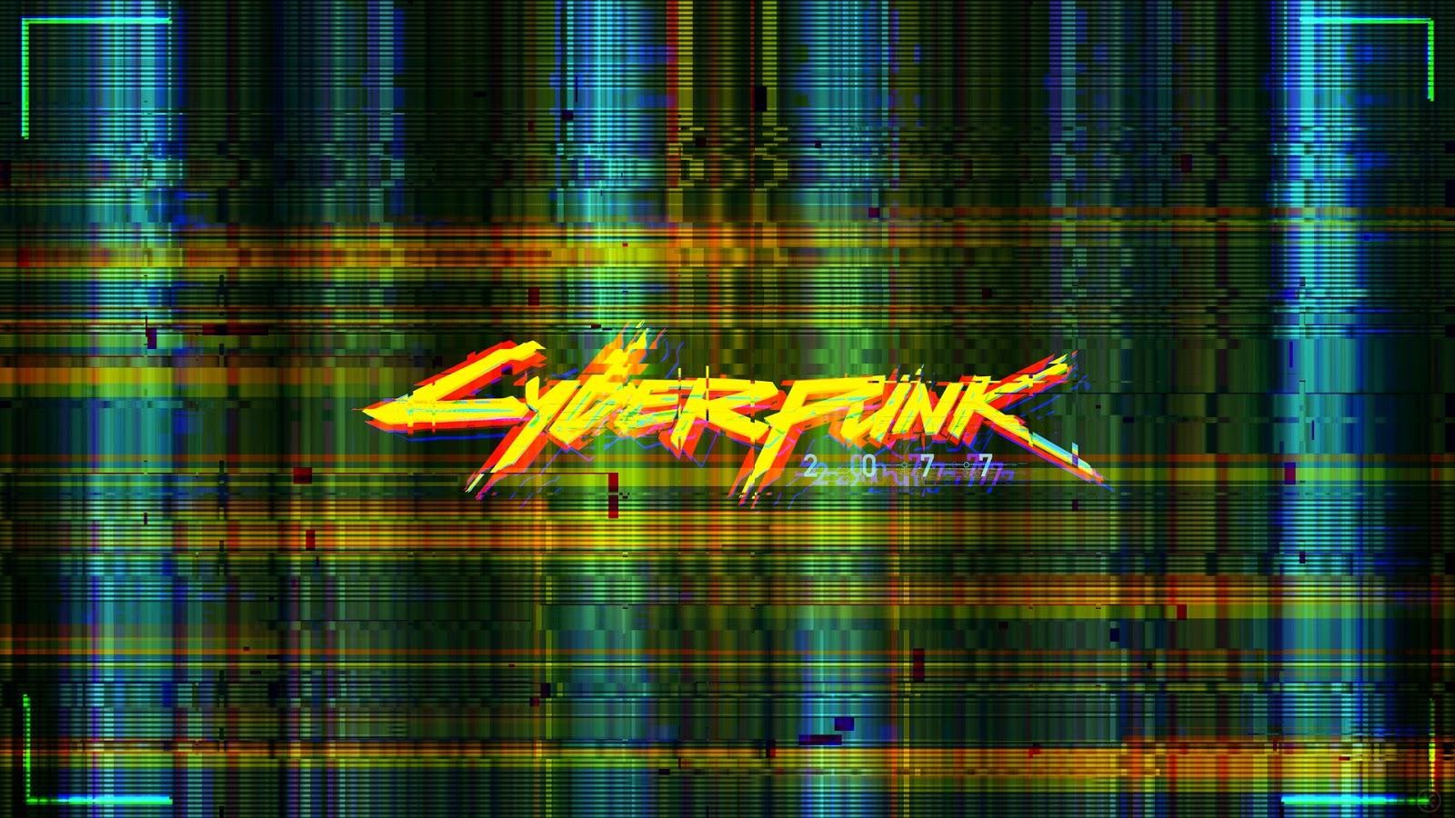 Cyberpunk 2077 Glitch wallpaper
