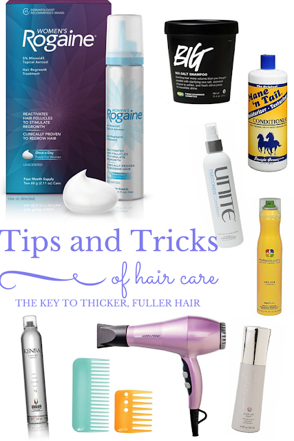 tips for thick hair